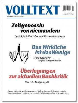 Volltext 1/2017 - Zeitschrift für Literatur