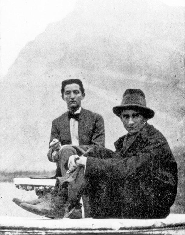 Franz Kafka, Otto Brod