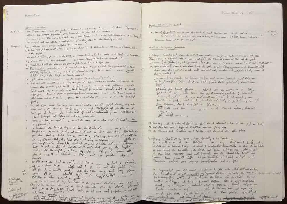 Martin Prinz - Notizbuch