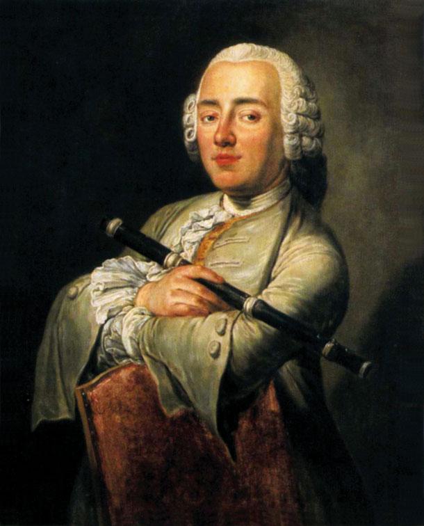 J. W. L. Gleim, Gemälde von Gottfried Hempel