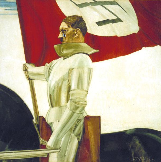"""Hubert Lanzinger: """"Der Bannerträger"""" (1934/36)"""