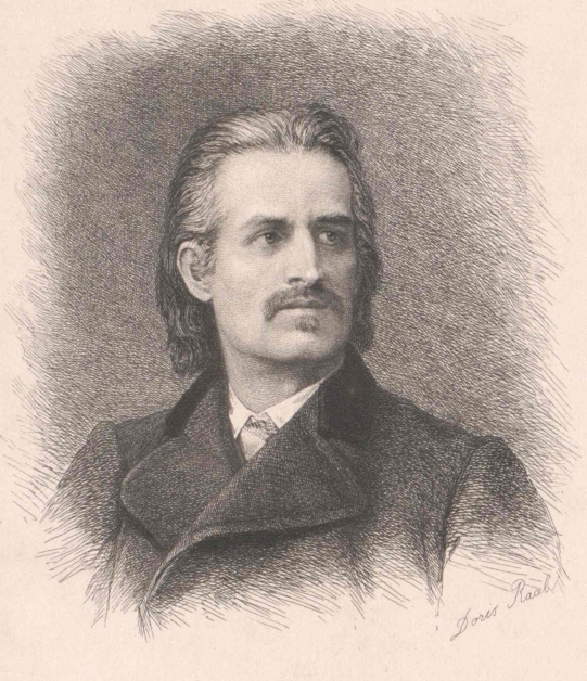 Robert Hamerling – Illustration: Doris-Raab