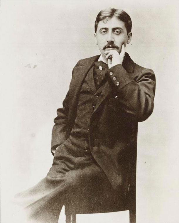 Marcel Proust © Otto Wegener