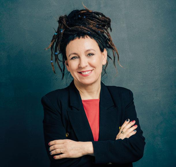 Olga Tokarczuk © Lukasz Giza
