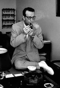 George Simenon, 1963. Foto: © Erling Mandelmann