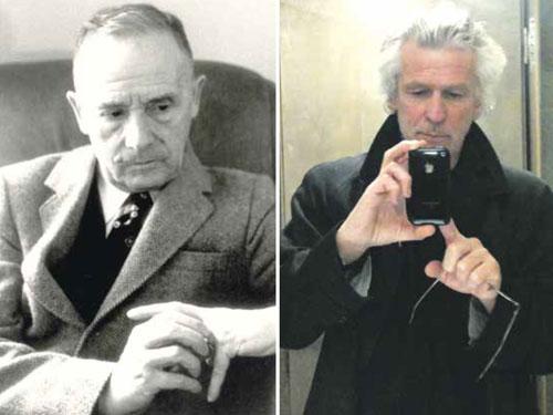 Julien Gracq, Dieter Hornig (c)Jose Corti