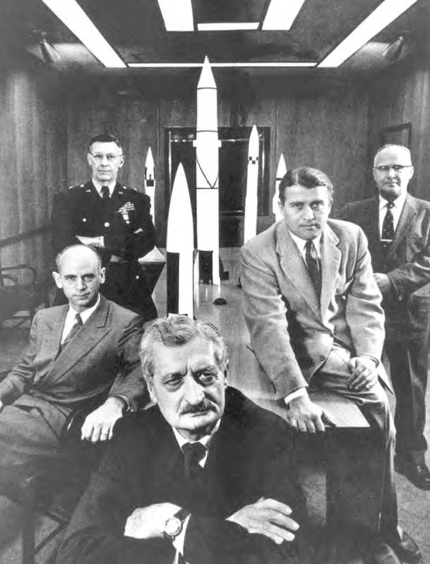 Hermann Oberth, Wernher von Braun © U.S. Army