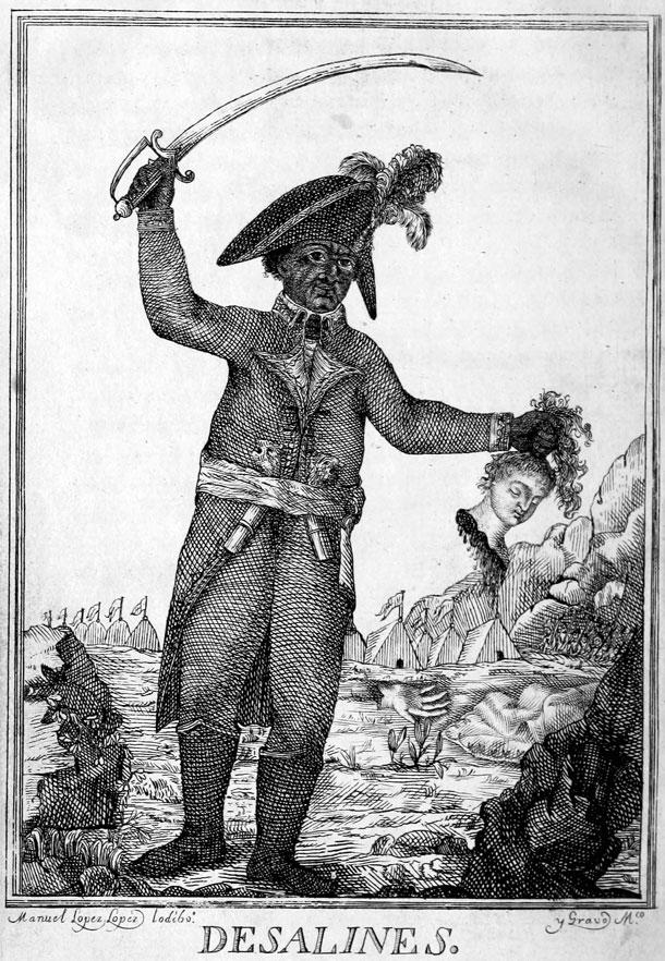 Jean-Jacques Dessalines (Illustration: Manuel López López Iodibo)