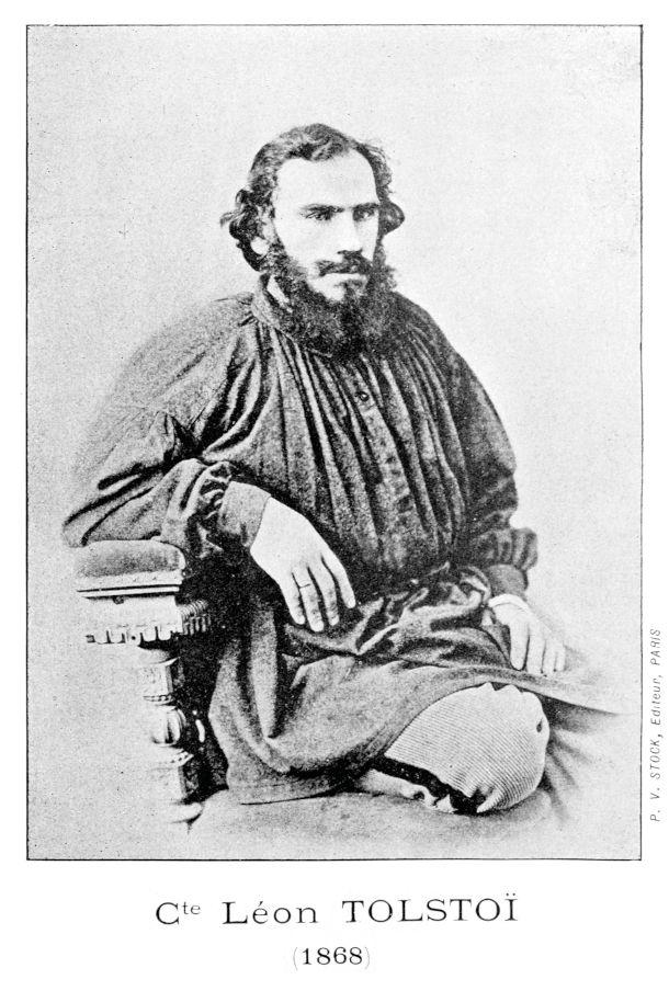 Leo Tolstoj © Bibliothèque de Genève