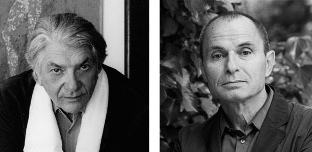 Paul Nizon, Norbert Gstrein © Jerry Bauer, Gustav Eckart