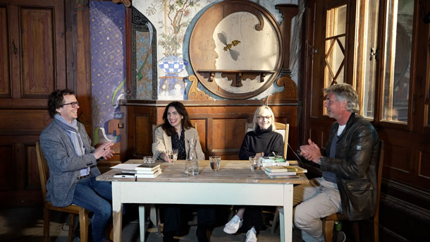 Dana Grigorcea, Eva Schmidt, Martin Print, Stefan Gmünder © Pavel Cuzuioc